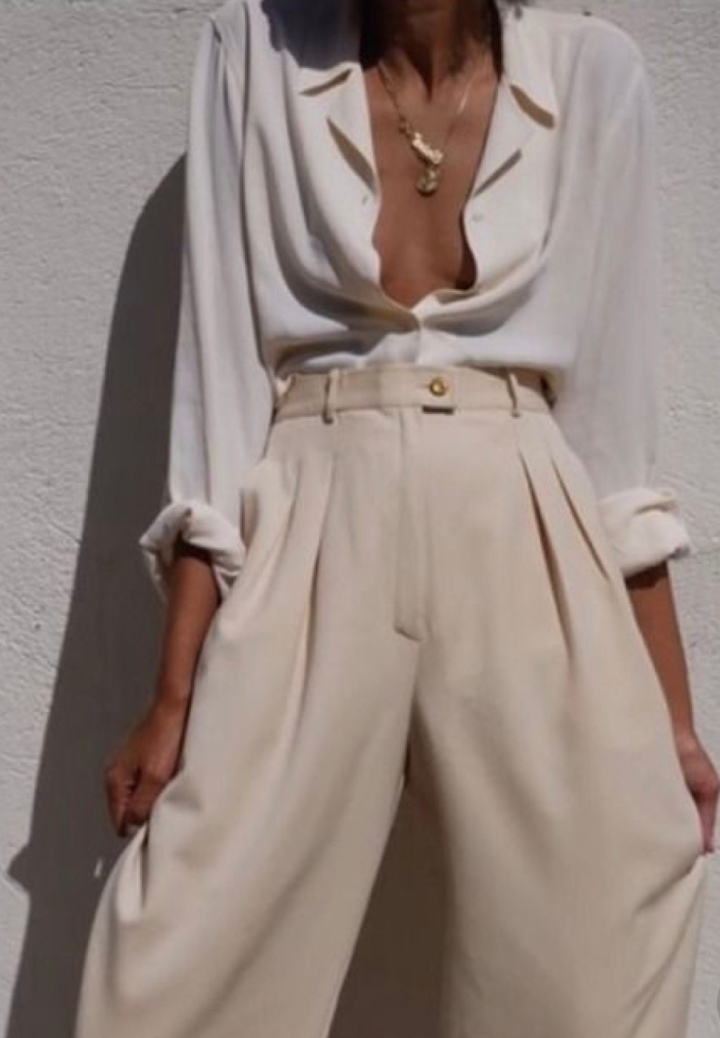 Style staple – Whiteblouse